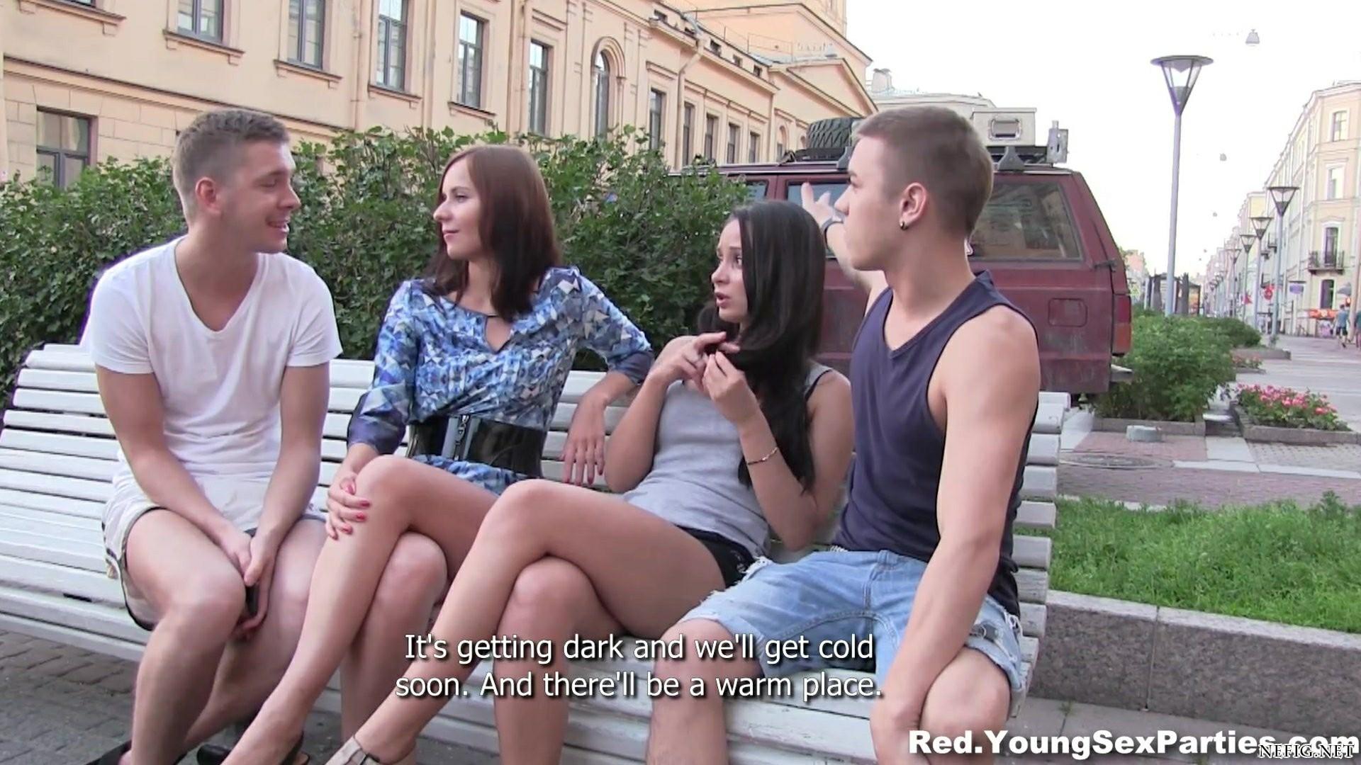 Русская Молодеженая Групповуха